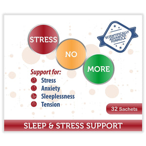 Stressnomore (32 Sachets with 6 Capsules each) 1 Box