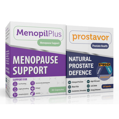 Menopil Plus & Prostavor Combo (One of each) (Free delivery in SA, T&C apply)