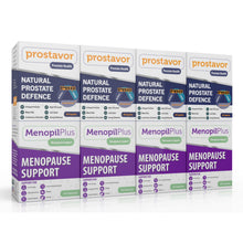 Load image into Gallery viewer, Menopil Plus - Prostavor Combo (Four of each) (Free delivery in SA and Africa, T&C apply)