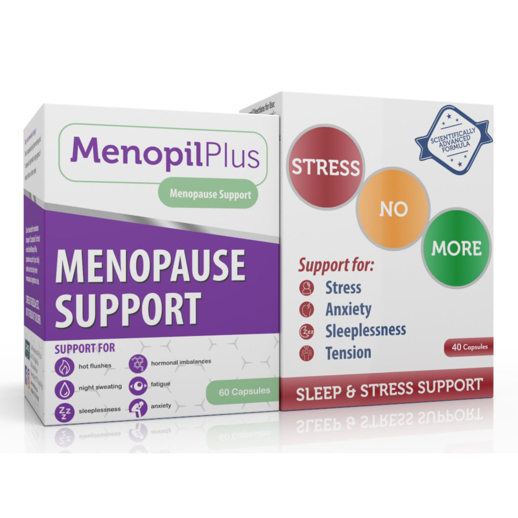 Menopil Plus & Stressnomore Combo (One of each)