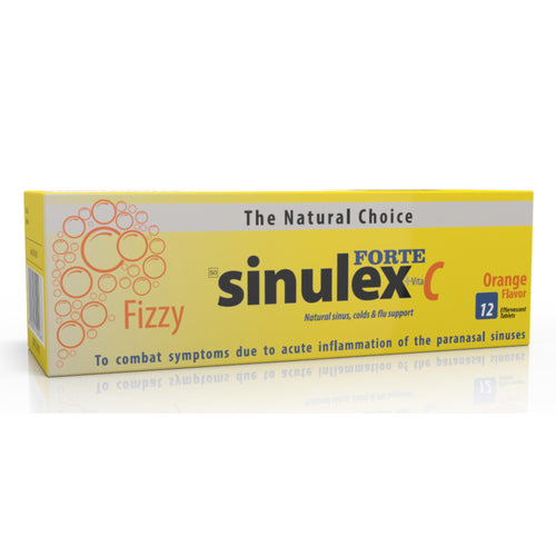 Sinulex Forte Effervescent Tablets 12's