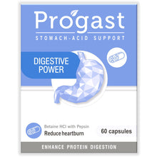 Load image into Gallery viewer, Progast Digestive Power capsules 60's