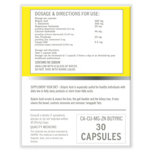 Load image into Gallery viewer, Progast Butryric acid capsules (4 Boxes)