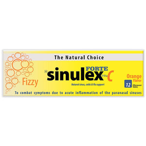 Sinulex Forte Effervescent Tablets 12's (48 Tablets)