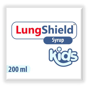 Lungshield (30 capsules) & Lungshield (Syrup 200ml)   (Two of each)
