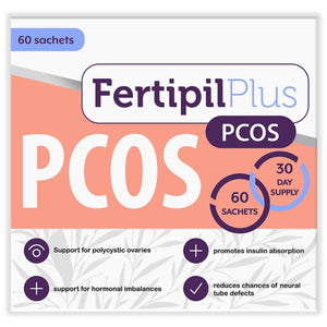 Fertipil Pcos & Fertipil for Men COMBO (One of each) (Free delivery in SA, T&C apply)