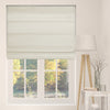 Cordless Fabric Roman Shades LF Ivory,Width from 22