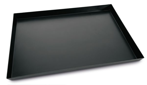 Pizza tray - blue steel - 40 x 30 x 3 cm
