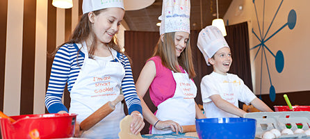 Kids Central Kitchen Cooking and Baking Classes, kids cooking utensils and party favors