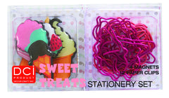 Sweet Treats - Stationary Set