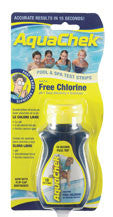 AQUACHECK YELLOW CHLORINE TEST