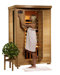 Cleansing Sauna - Dual Person Sauna with Carbon Heaters
