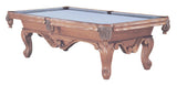 8' ROYAL HONEY ASH POOL TABLE