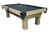 8' GLENDALE NATURAL OAK POOL TABLE