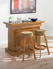 Oak Game table bar