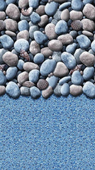 15'X54 PEBBLES OVERLAP POOL LINER