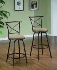 "29"" X Back Swivel Stool"