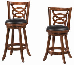 "29"" Cappuccino X back bar stool"