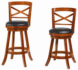 "29"" Cherry X back Bar Stool"