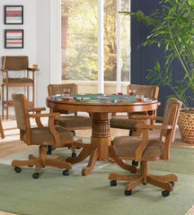 Mitchell Collection Game Table Collection Oak