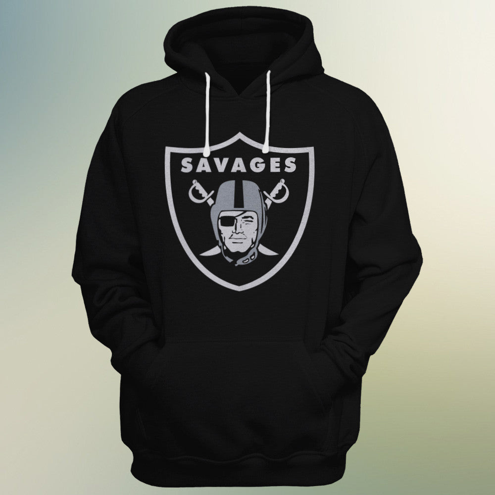 Oakland Raiders Fan Club Hoodie (Savages)