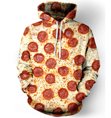 PEPPERONI UNISEX PULLOVER HOODIE
