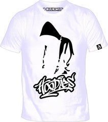 HooDies Graff Unbowed Tee - White