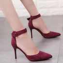 Concise Pointed Toe Office Shoes