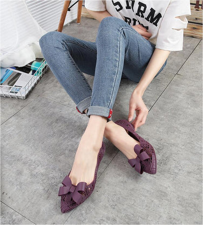 Swim Pool Pointed Toe Breathable Flats