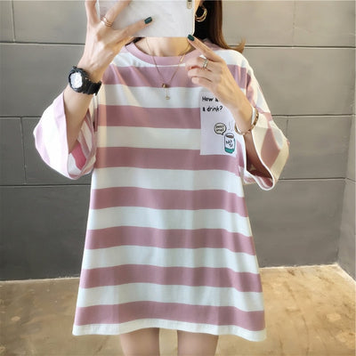 Striped Oversize T-shirt