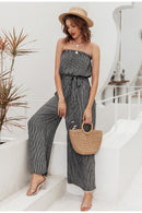 Off shoulder sexy jumpsuit