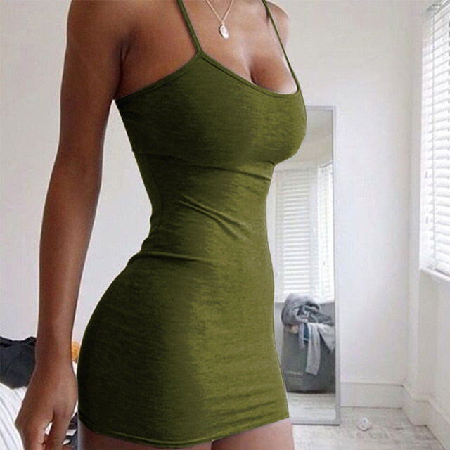 Sexy Nightclub Slim Mini Tight Dress