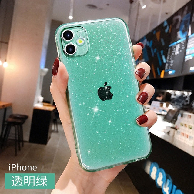 8 color soft Silicone Shockproof Cover for iphone 7 plus