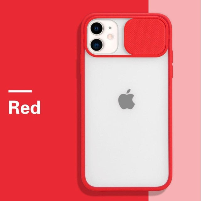 12 color Camera Lens Protection Phone Case  For iPhone 12
