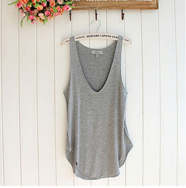 Summer Trendy Fitness Tank Top Loose