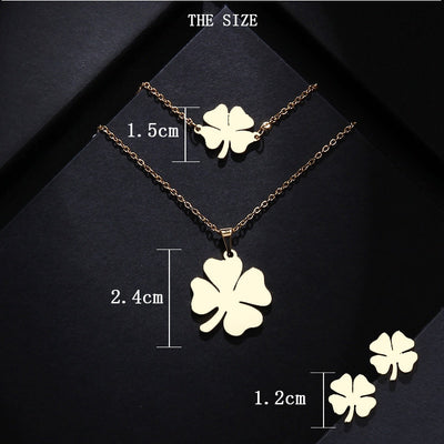 Stainless Steel Sets For Women Clover