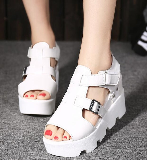 High Heel Casual footwear flip flops Open Toe Sandals