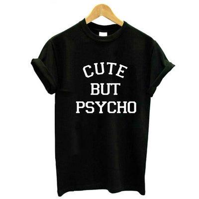 Cute Print Cotton Casual Funny t shirt