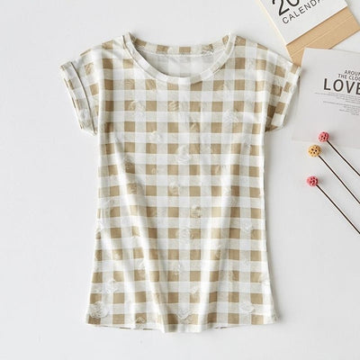 new casual short-sleeved shirt