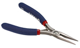 Tronex 512 ESD-Safe Chain Nose Pliers, Serrated Tip, Cushion Grips