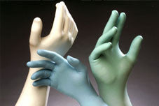 Techniglove Nitrile Glove, Class 10, Color Coded, TN1200 Series