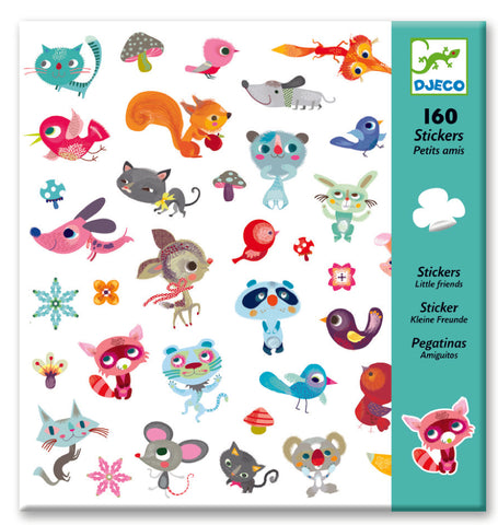 Djeco Stickers - Small Friends