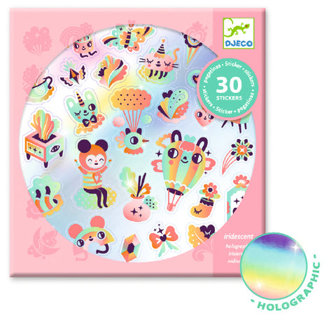 Djeco Lovely Rainbow Stickers