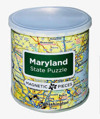 Magnetic Puzzle Maryland