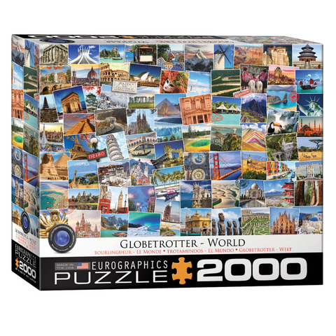 World - Globetrotter 2000 Pieces