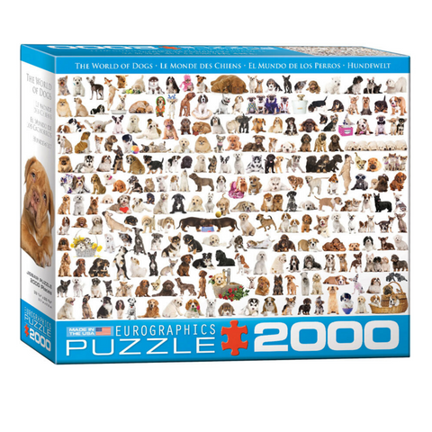The World of Dogs 2000 Pieces