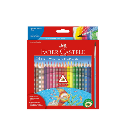 Faber Castell 24ct GRIP Colored EcoPencils