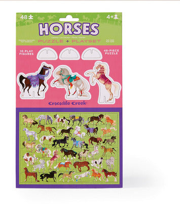 Pop Out & Play Set/Horses