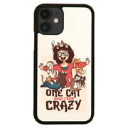 Crazy cat lady funny case cover for iPhone 11 11pro max xs xr x