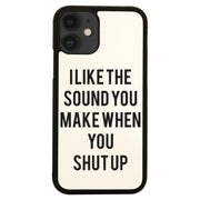 I like the sound funny rude offensive iPhone case cover 11 11Pro Max XS XR X - Graphic Gear